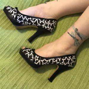Madden Girl peep toe heels